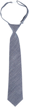 Andy & Evan Boys' Blue Chambray Tie Blue