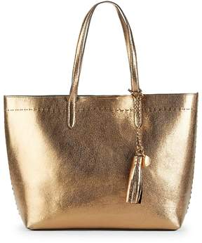 Cole Haan Women's Payson Metallic Leather Tote