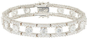 Elizabeth Taylor As Is The Simulated Round DiamondBracelet