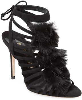 Aperlaï Women's Leather High Heel Sandal