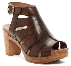 Dansko Demetra Cutout Platform Sandal
