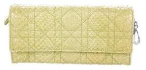 Christian Dior Python Lady Cannage Wallet