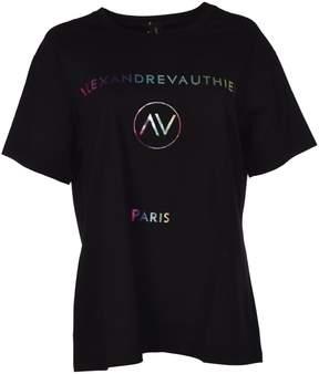 Alexandre Vauthier Alexander Vauthier Logo Printed T-shirt