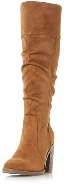 Head Over Heels *Head Over Heels by Dune Tan Tamika Heeled Boots