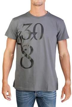 Christian Dior Men's Number T-shirt Grey.