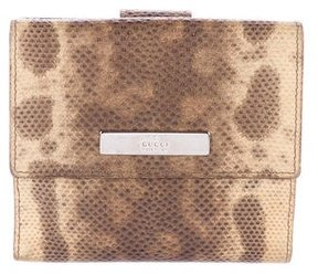 Gucci Karung Compact Wallet - NEUTRALS - STYLE