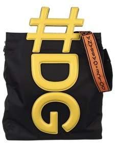 Dolce & Gabbana Dolce E Gabbana Men's Yellow/black Polyamide Messenger Bag.