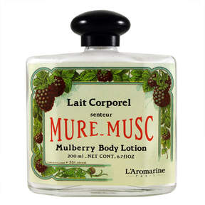 L'Aromarine Mure Musc (Mulberry) Body Lotion by Outremer, formerly 6.7floz Lotion)