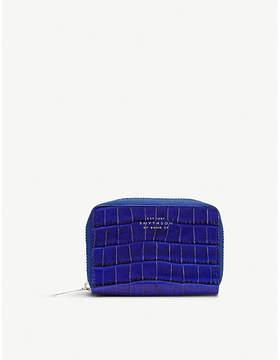 Smythson Mara zipped leather coin purse