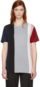 Cédric Charlier Multicolor Fruit of the Loom Edition Contrast Stripe T-Shirt