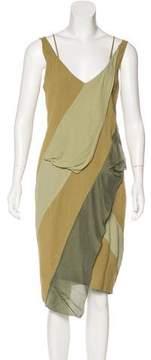 Belstaff Sleeveless Paneled Dress