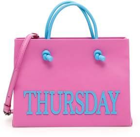 Alberta Ferretti Leather Thursday Shopping Bag