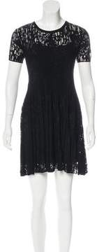 Timo Weiland Devoré Mini Dress