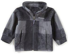 Columbia Baby Boys 3-24 Months Zing III Buffalo Plaid Fleece Jacket