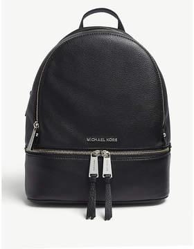 MICHAEL Michael Kors Rhea medium leather backpack - BLACK - STYLE