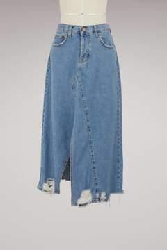 Current/Elliott Current Elliott Reworked skirt