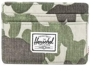 Herschel camouflage print cardholder