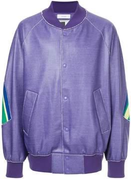 Facetasm loose fit bomber jacket