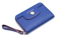 Longchamp Women's Blue Le Pliage Héritage Coin Purse. - BLUE - STYLE