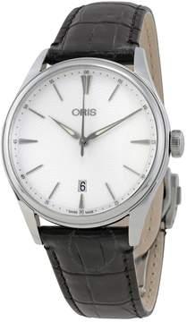Oris Artelier Date Silver Dial Men's Watch