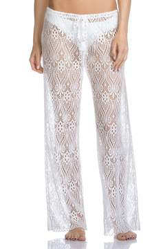 Becca by Rebecca Virtue Poetic Crochet Lace Pant Cover-Up