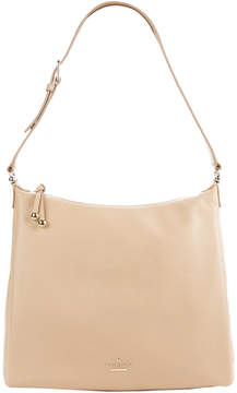 Kate Spade Lombart Street Paulie Leather Hobo - BEIGE - STYLE