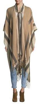 BCBGeneration Fringed Scarf Kimono