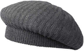 Joe Fresh Women's Knit Beret, Grey Mix (Size O/S)