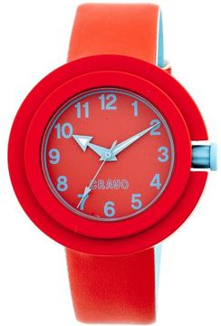 Crayo Equinox Collection CRACR2801 Unisex Watch with Rubber Strap
