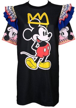 Disney Mickey Mouse Tunic for Women by Sugarbird – Black