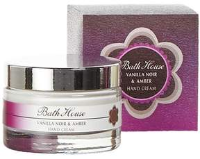 Bath House Vanilla Noir and Amber Hand Cream by 50ml Cream)
