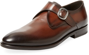 Antonio Maurizi Men's Leather Monkstrap Shoe