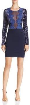 Aqua Velvet & Lace Dress - 100% Exclusive