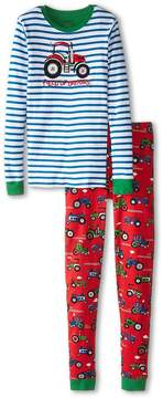 Hatley Farm Tractors PJ Set (Toddler/Little Kids/Big Kids)