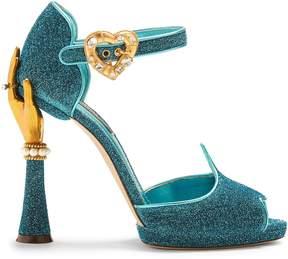 Dolce & Gabbana Hand-embellished sandals