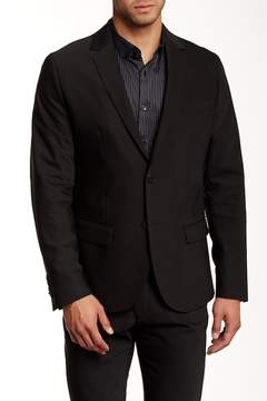 Kenneth Cole New York Slim Fit Two-Button Blazer