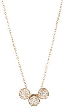 Carolee Round Pave Necklace