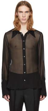 Ann Demeulemeester Black Boundless Shirt