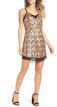 Adelyn Rae Women's Becca Sequin Minidress