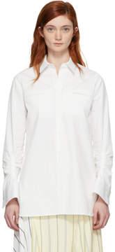 Carven White Oxford Shirt