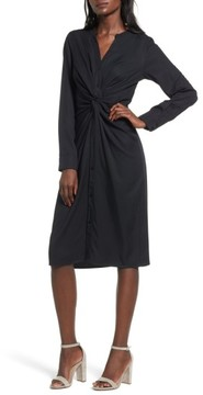 Everly Women's Twist Front Shirtdress