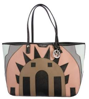 Henri Bendel Deco Patch Tote