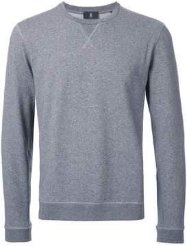 Kent & Curwen knit panel sweatshirt