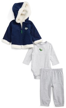 Little Me Infant Boy's Dashing Jacket, Bodysuit & Pants Set