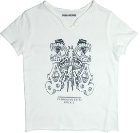 Zadig & Voltaire Superhero Printed Cotton Jersey T-Shirt