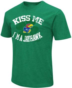 Colosseum Men's Kansas Jayhawks St. Patrick's Day Tee