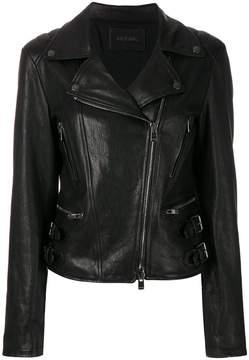 Drome fitted biker jacket