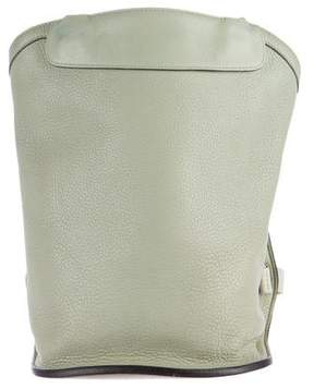 Hermes Clemence Sherpa Backpack - GREY - STYLE