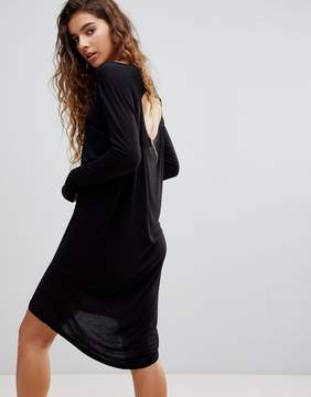 Cheap Monday Ban Long Sleeved Shift Dress