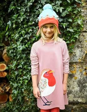 Boden Big Appliqué Jersey Dress
